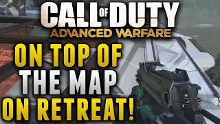 "Advanced Warfare Glitches - On Top Of The Map on Retreat! ""After Patch"" (XBOX 360,XB1,PS3,PS4,PC)"