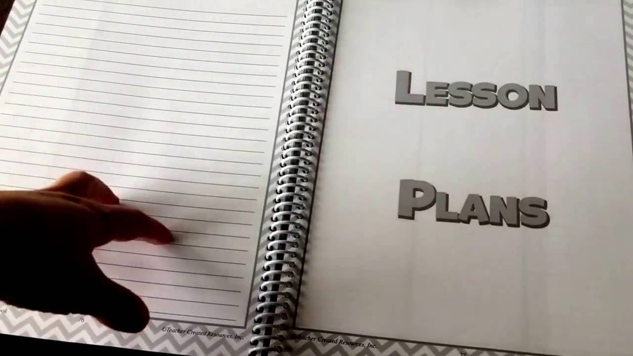 teacher created resource s lesson plan and record book review youtube