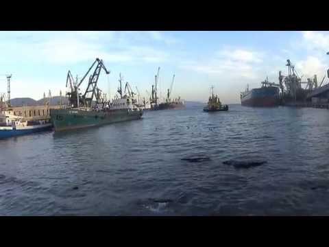Порт Новороссийск Зерновой терминал Shipspotting