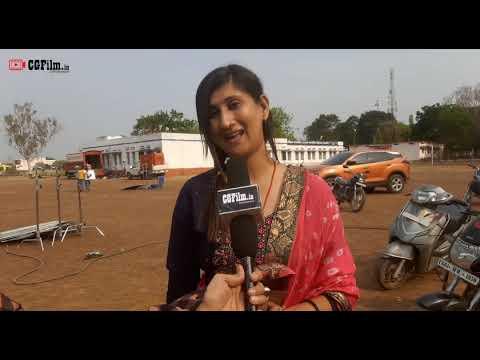 "Chhattisgarh Film ""कुरुक्षेत्र"" | Shooting time | Interview with stars | Dharmendra & Vijeta Mishra"