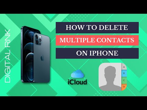 In this video i am showing that how to delete miltiple contact in iphone . Download application from.
