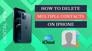 How to delete all contacts on iPhone | Delete multiple contacts on iPhone | iPhone 6/7/8/x/xr/xs.