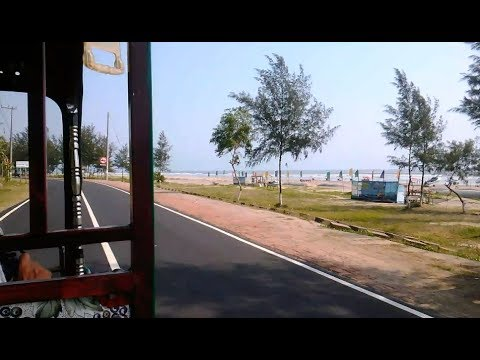 Most beautiful marine drive road in the world [HD video] || 2017 || Cox's Bazar || Bangladesh