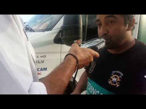 Conductor borracho ruta 11 - Mar del Plata