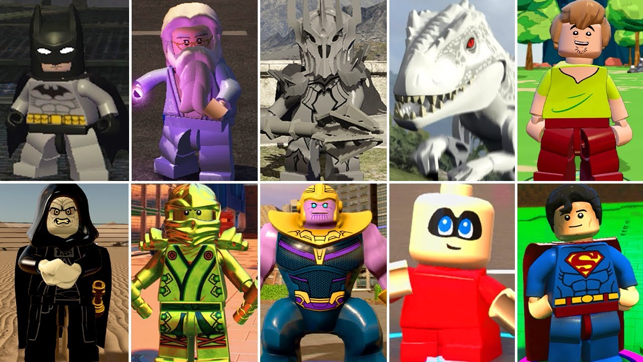 The Most Powerful Characters in LEGO Videogames