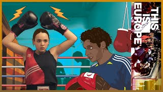 Gambar cover 🇧🇪 Salma the boxer: Fighting hate in a Brussels' immigrant suburb | This is Europe