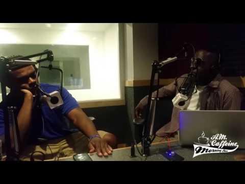 Bishop Lamont Interview on AM Caffeine Show (08/17/16)