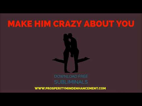 Make Him Crazy About You - Subliminal Affirmations Rain Drops Sound