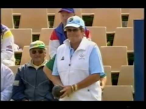 Lawn Bowls: Australian Open 2005 - Womens Singles - Roma Dunn Vs Mary Ann Spicer