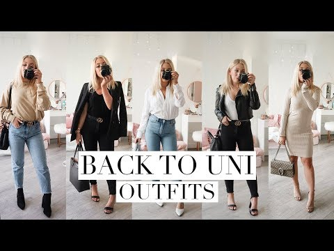 5 BACK TO SCHOOL OUTFIT IDEAS | Back To Law School/University 2018