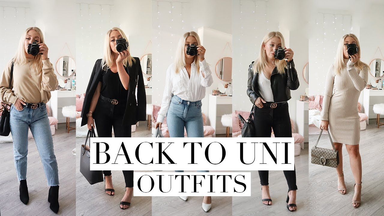 5 BACK TO SCHOOL OUTFIT IDEAS | Back To Law School/University 2018 2