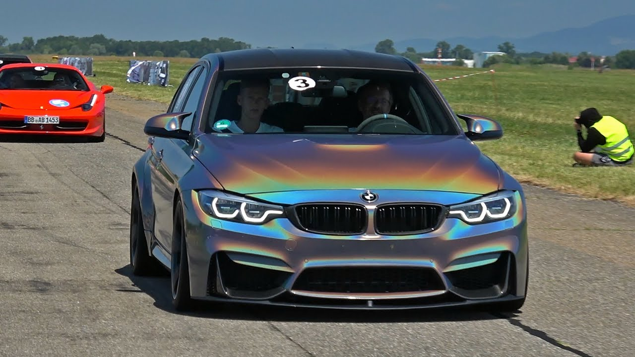 BMW M3 F80 With M Performance Exhaust!