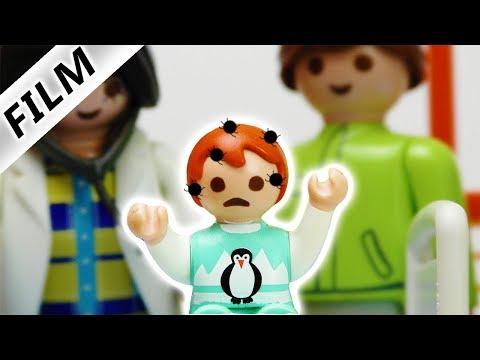 Playmobil Film Deutsch - EMMA HAT LÄUSE! MUSS SIE IN DER KINDERKLINIK BLEIBEN? Familie Vogel