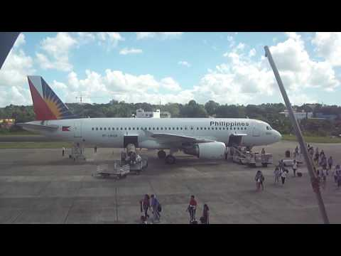 Philippine Airlines at Tagbilaran Airport Bohol Philippines