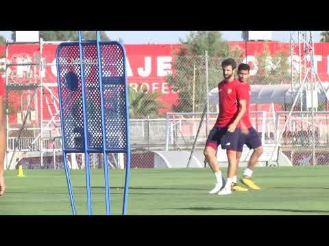 Entrenamiento Sevilla F.C. 12-8-17