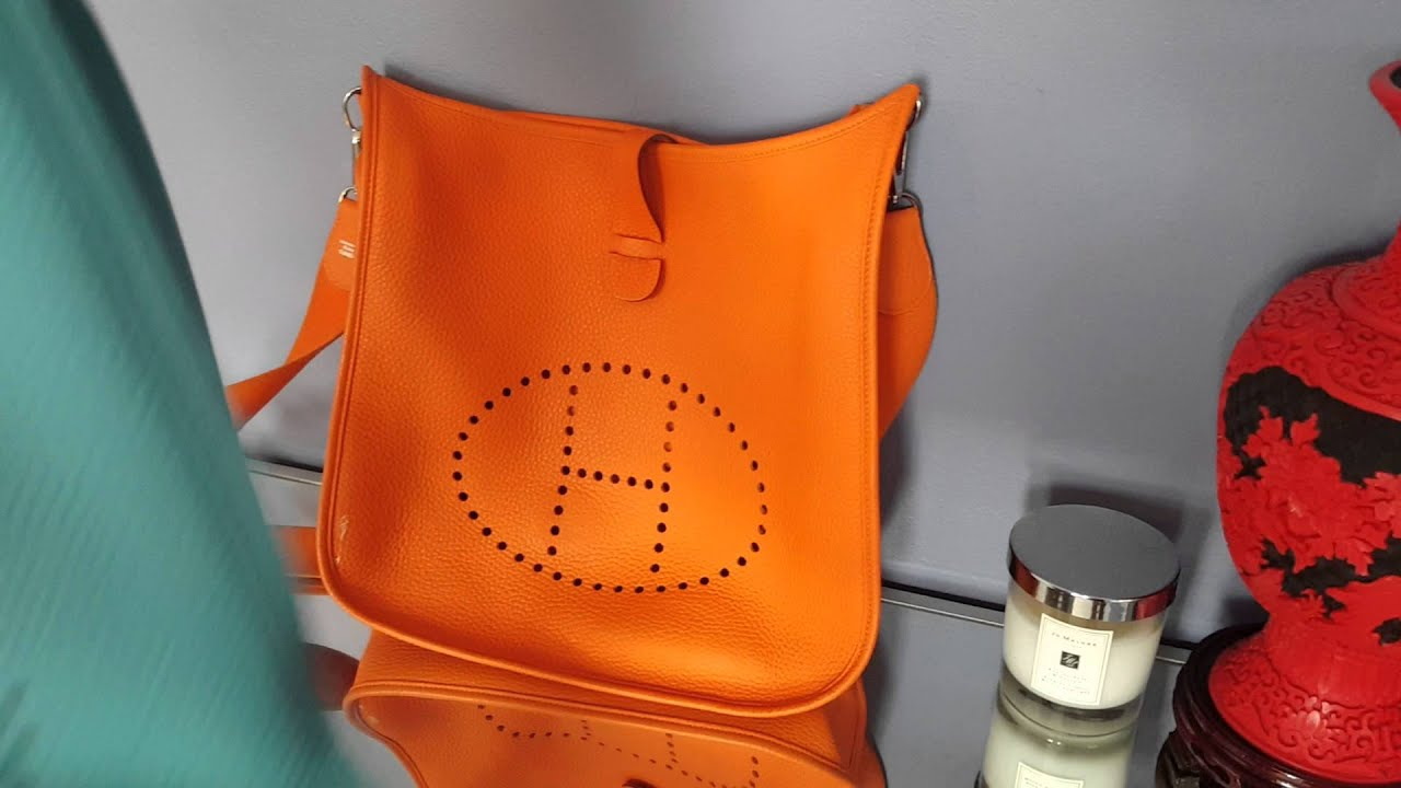 hermes evelyne mini bag