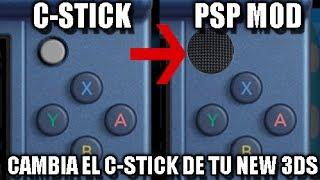 [TUTORIAL] Cambiar C-Stick de New Nintendo 3DS por PSP Stick