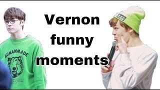 Video SEVENTEEN Vernon Funny Moments download MP3, 3GP, MP4, WEBM, AVI, FLV Maret 2018