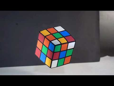 Floating Box Illusion (Diy Optical Illusion Made from cardboard revealed)