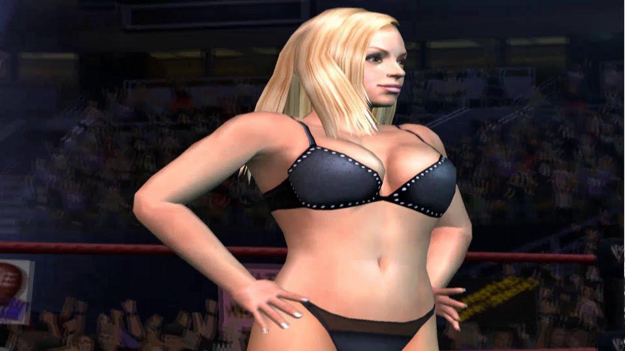 WWE Smackdown vs Raw Trish Stratus Season Mode Part 1 ... Wwe Jeff Hardy And Trish Stratus
