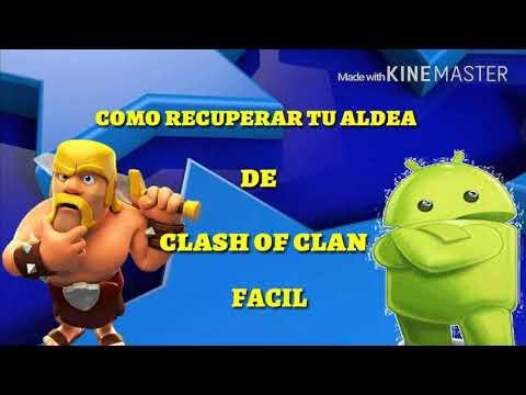Cómo Recuperar mi CUENTA de Clash of Clans mediante FACEBOOK