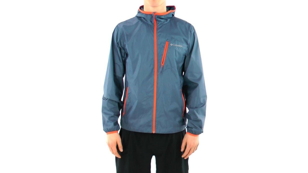 Columbia Men's Trail Drier Windbreaker Running Jacket | SwimOutlet ...