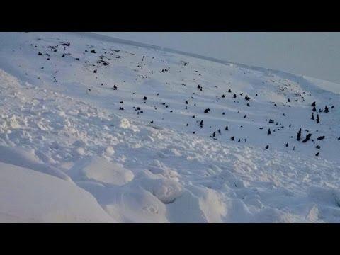 Killer Avalanche Location off Loveland Pass