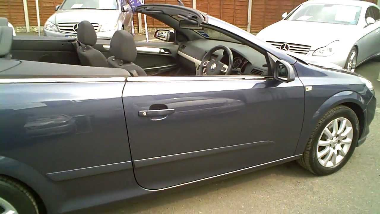 2008 vauxhall astra 1 8 vvt twintop convertible manual youtube. Black Bedroom Furniture Sets. Home Design Ideas