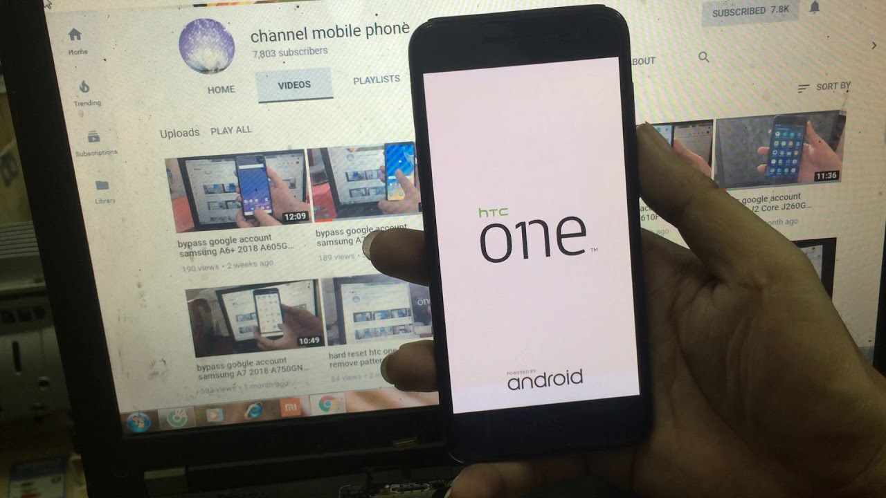 bypass google account HTC One A9 (2PQ93)