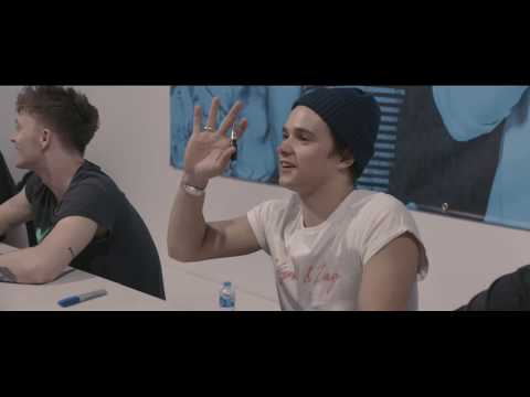 The Vamps - London Pop Up Merch & Signing Store (Night & Day Album Launch)
