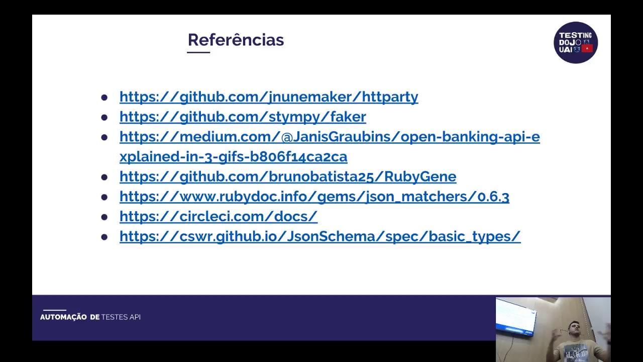 Automação API com HTTParty com Integração contínua CircleCI