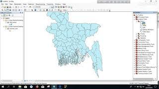 Clip in ArcGIS // ArcGIS basic part (bangla)