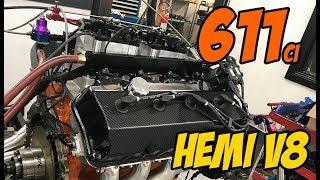 611ci Hemi V8 Dyno