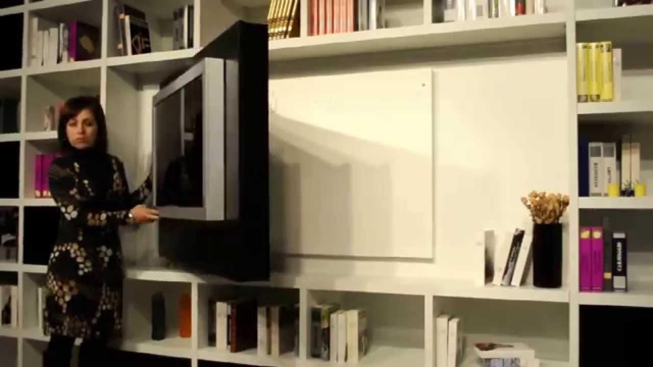 Pannello porta tv lcd orientabile girevole di astor x2 - Pannello porta tv ikea ...