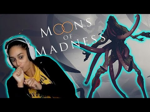 I Got Peer Pressured Into Playing A Horror Game | Moons of Madness |