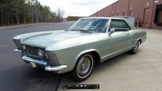 1963 Buick Riviera 401 cu/in Start Up, Exhaust, and In Depth Review