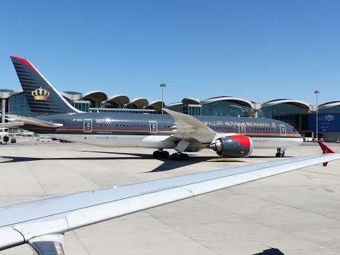 Royal Jordanian Boeing 787 Dreamliner Flight Report
