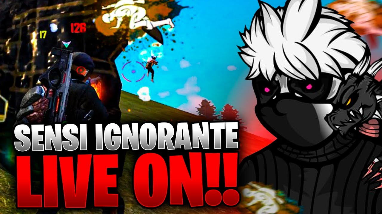 🔥 FREE FIRE - AO VIVO 🔥 JOGANDO RANK TREINANDO A SENSI, FT TRAP !!🔥