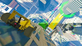 POR LA PARED DEL MAZE BANK!! - GTA V ONLINE