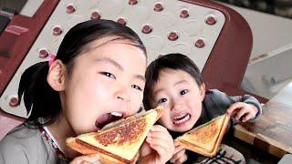 ホットサンドを極め食すRino&Yuuma thumbnail