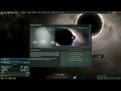Stellaris: Breaking The Infinity Machine - This Statement Is False & Self Destruct Options