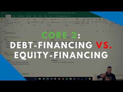 Core 2 Review - Debt Financing vs. Equity Financing