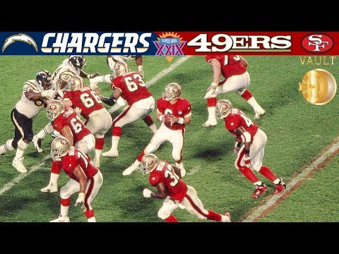 Steve Young Gets the Monkey Off His Back! (Chargers vs. 49ers, Super Bowl 29) | NFL Vault Highlights