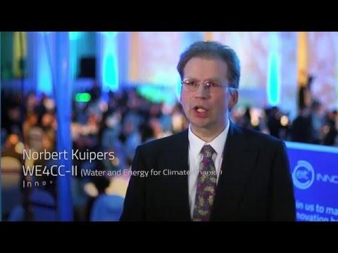 Norbert Kuipers - Climate-KIC, EIT Innovator Award 2016 winner