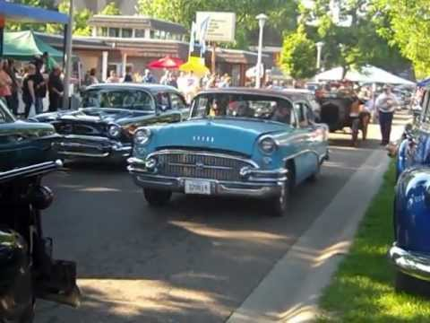 World's biggest classic car show! Pt. 3 Back to the Fifties 2012 Saturday Compilation