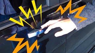 【車の静電気防止対策】車から降りるとき放電編 HOW TO ANTISTATIC【冬の乾燥時期のライフハック】