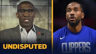 Kawhi is not even close to being the best player in the world - Shannon Sharpe | NBA | UNDISPUTED