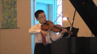 The Last Rose of Summer, by H.W. Ernst - Pierce Wang, violin