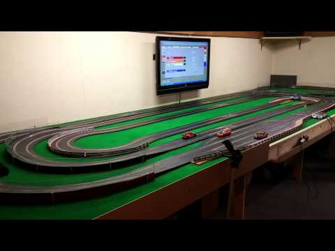 Scalextric Digital Multi Cars, RCS 64 slot racing system