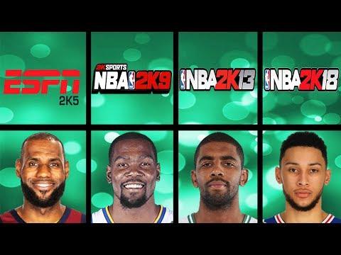 Highest Rated Sophmores Ever In NBA 2K Games (NBA 2K - NBA 2K18)